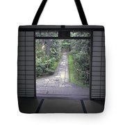 Zen Tea House Dream Tote Bag by Daniel Hagerman