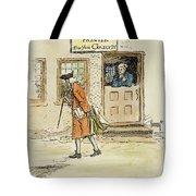 Zenger And Bradford, 1730s Tote Bag
