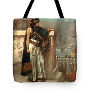 Zenobia's Last Look On Palmyra Tote Bag