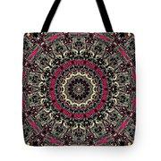 Zentangle No. 7 Kaleidoscope Tote Bag