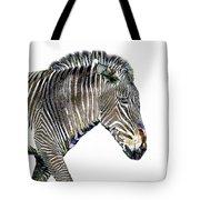 Zephyrus Zebra IIi Tote Bag