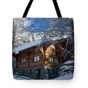 Zermatt Chalet Tote Bag
