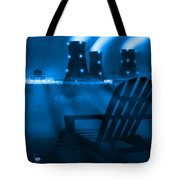 Zero Hour In Blue Tote Bag