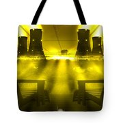 Zero Hour In Yellow Tote Bag