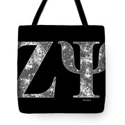 Zeta Psi - Black Tote Bag
