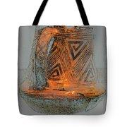 Zigzag Mug With Handle Tote Bag
