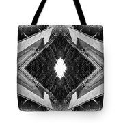 Zigzag Pier Illusion C Tote Bag
