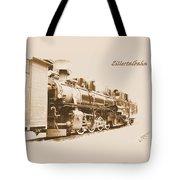 Zillertal Railway Tote Bag