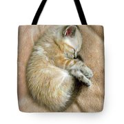 Zing The Kitten Tote Bag