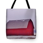 Zink Rd Farm 1 In Winter White Tote Bag