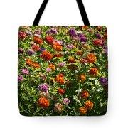 Zinna Variety Tote Bag