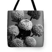 Zinnia Lilliput Flowers Tote Bag