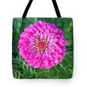 Zinnia - Pink Tote Bag