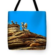 Zion Bighorn Sheep Tote Bag