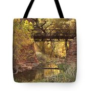 Zion Bridge Tote Bag