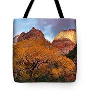 Zion Cliffs Autumn Tote Bag
