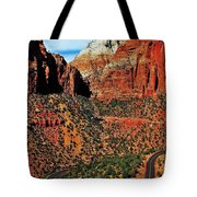 Zion Hairpin Tote Bag