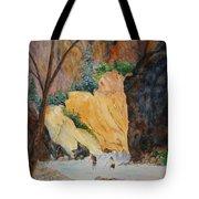 Zion Hike Tote Bag