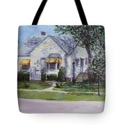 Zion House Tote Bag