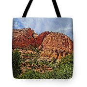 Zion National Park In Summer Tote Bag