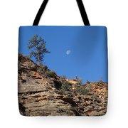 Zion National Park Moonrise Tote Bag