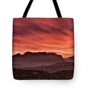 Zion National Park Panoramic Tote Bag