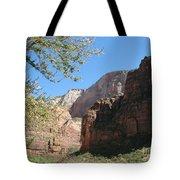 Zion Park Impression Tote Bag