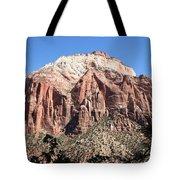 Zion Park Mountainscape Tote Bag