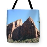 Zion Park Red Rocks Tote Bag