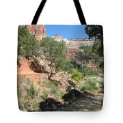 Zion Park - Virgin River Tote Bag