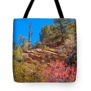 Zion Reds Tote Bag