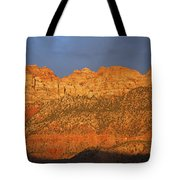 Zion Sunset Panorama Tote Bag