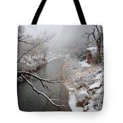 Zion's Virgin River Tote Bag