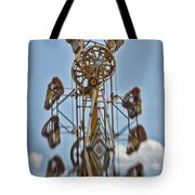 Zipper In The Sky Tote Bag