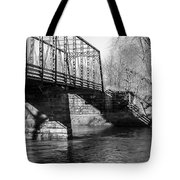 Zoar Iron Bridge Tote Bag