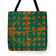 Zodiac Killer Code And Sign 20130213p28 Tote Bag