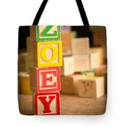 Zoey - Alphabet Blocks Tote Bag