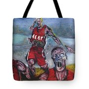 Zombie Heat Tote Bag
