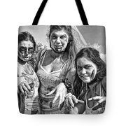Zombie Run Nola 19 Tote Bag