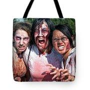 Zombie Run Nola 24 Tote Bag