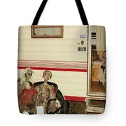 Skeleton Family Vacation Tote Bag