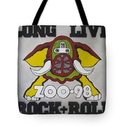 Zoo 98 Elephant Rock And Roll Tote Bag