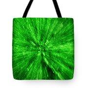 Zoom In Green Tote Bag