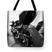 Zoomed Gsxr Tote Bag