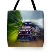 Zooming Through Ontario Tote Bag