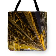 Zooming Under L Tote Bag