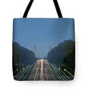 Zoomy Pic Of The Plaza State Capital Pa Tote Bag