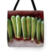 Zucchinis Tote Bag