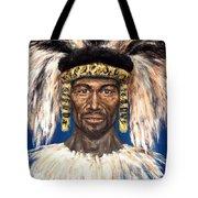 Zulu Warrior Tote Bag