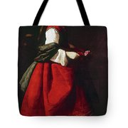 Zurbur�n Saint Casilda Tote Bag
